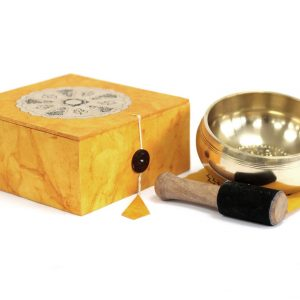 Healing Light Online Psychics New Age Shop Meditation Singing Bowl Set for Sale