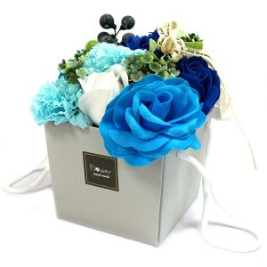 Healing Light Online Psychics and New-Age Shop Soap Flower Bouquet Blue Wedding for Sale