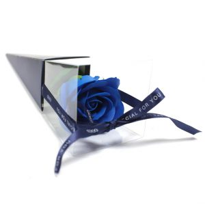 Healing Light Online Psychics and New-Age Shop Soap Flower Single Blue Rose for Sale