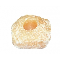 Healing Light Online Psychic Readings and Merchandise Tea Light Holder in Orange Calcite