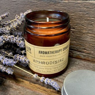 Healing Light Online Psychic Readings and Merchandise Aromatherapy Aphrodisiac Candle with Pure essential Oils