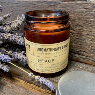 Healing Light Online Psychic Readings and Merchandise Aromatherapy Peace Candle with Pure essential Oils