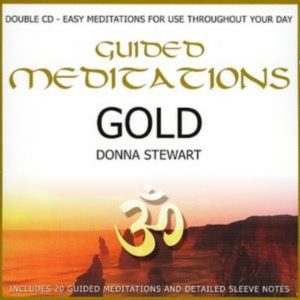Healing Light Online Psychic Readings and Merchandise Meditations Gold by Donna Stewart
