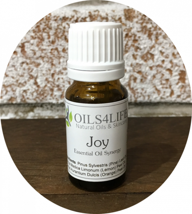 Healing Light Online Psychic Readings and Merchandise Blended Essential oil Joy by Oils4life