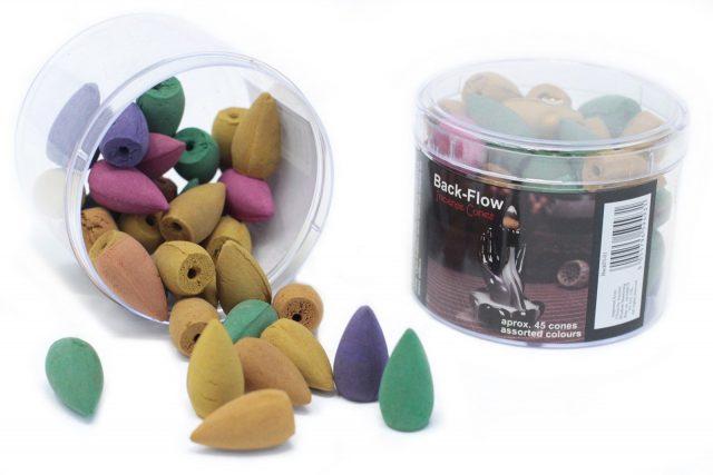 Healing Light Online Psychic Readings and Merchandise Assorted Backflow Incense Cones for backflow burners