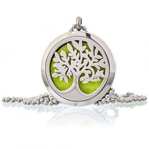 Healing Light Online Psychic Readings and Merchandise Aromatherapy Diffuser Necklace Tree of Life by oils4life