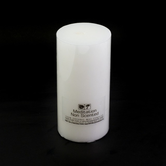 Healing Light Online Psychic Readings and Merchandise Non Scented Large Organic candle