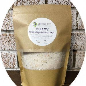 Healing Light Online Psychic Readings and Merchandise Clairity- Organic Himalayan Bath Salts Oils4Life