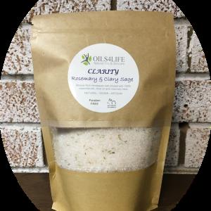 Healing Light Online Psychic Readings and Merchandise Clairity- Organic Himalayan Bath Salts Oils4Life