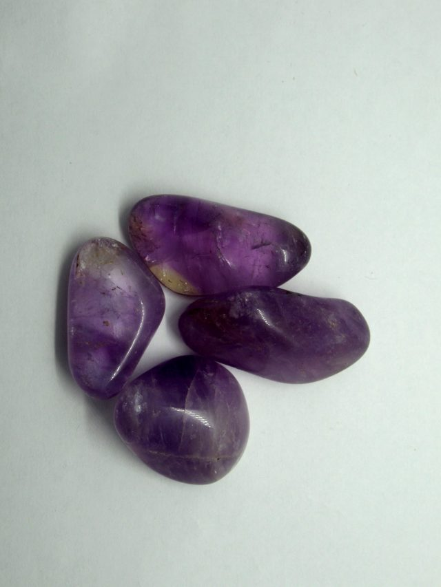 Healing Light Online Psychics New Age Shop Amethyst Tumblestones