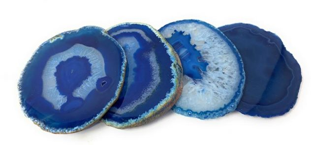 Healing Light Online Psychic Readings and Merchandise Blue Agate Slices