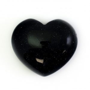 Healing Light Online Psychic Readings and Merchandise Blue Goldstone Heart