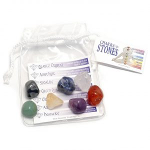 Healing Light Online Psychic Readings and Merchandise Chakra Tumblestone Pouch