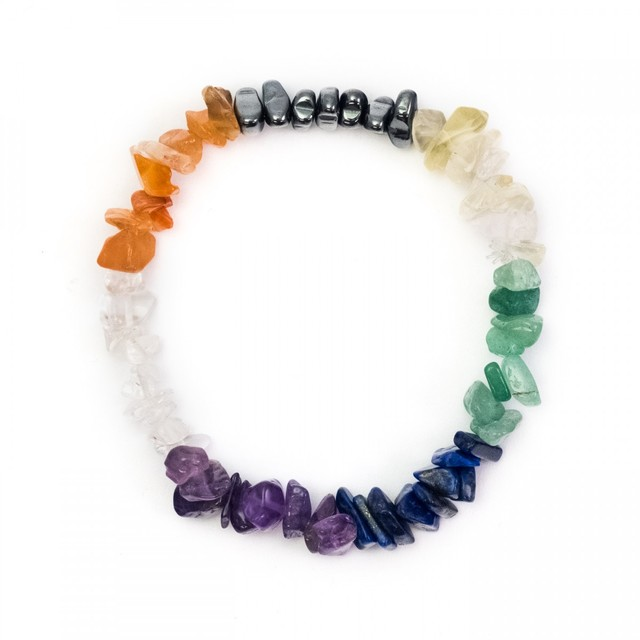Healing Light Online Psychic Readings and Merchandise Chakra Fine Chip Power Bracelet