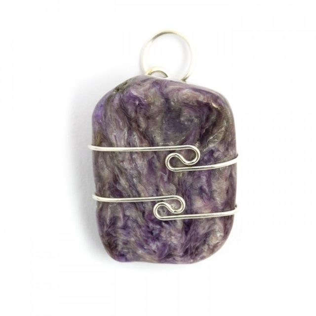 Healing Light Online Psychic Readings and Merchandise Chariote Wire Wrap Pendant