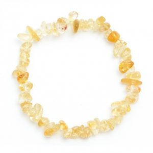 Healing Light Online Psychic Readings and Merchandise Citrine Fine Chip Bracelet
