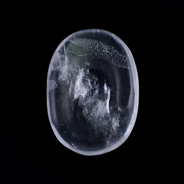 Healing Light Online Psychics New Age Shop Clear Quartz Worry Stone