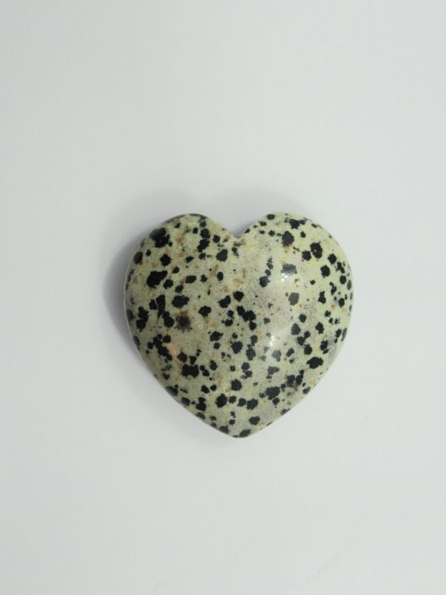 Healing Light Online Psychic Readings and Merchandise Dalmation Jasper Heart