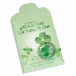 Healing Light Online Psychic Readings and Merchandise Four Leaf Clover Stone