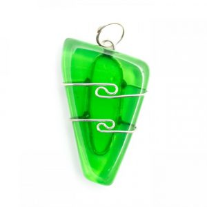 Healing Light Online Psychic Readings and Merchandise Gaia Stone Wire Wrap Pendant