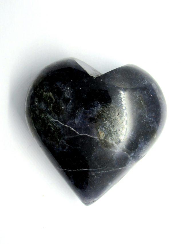 Healing Light Online Psychic Readings and Merchandise Iolite Heart