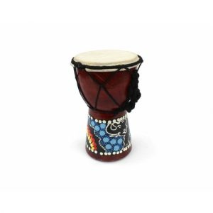Healing Light Online Psychic Readings and Merchandise Mini Painted Djembe