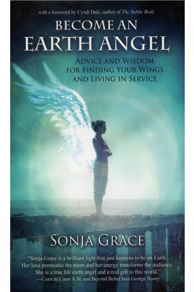 Healing Light Online Psychics Become an Earth Angel by Sonja Grace book by Cassandra Eason for sale