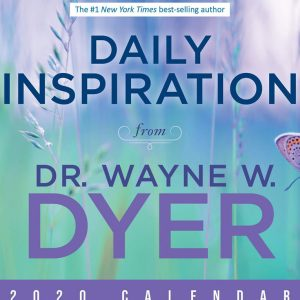 "Healing Light Online Psychics Calendar 2020 ""Daily Inspiration"" by Wayne Dyer by Sarah Knight for sale"