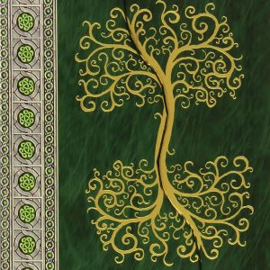 Healing Light Online Psychics Celtic Tree Notebook for sale