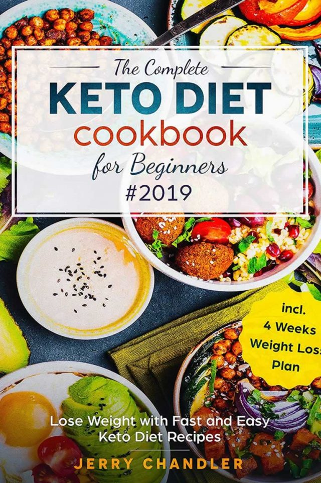 Healing Light Online Psychics Keto diet cookbook for beginners by Jerry Chandler for sale