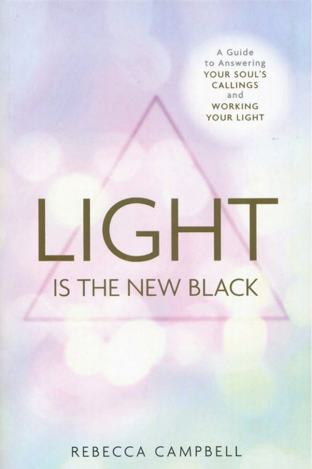 Healing Light Online Psychics Light is the New Black by Rebecca Campbell for sale