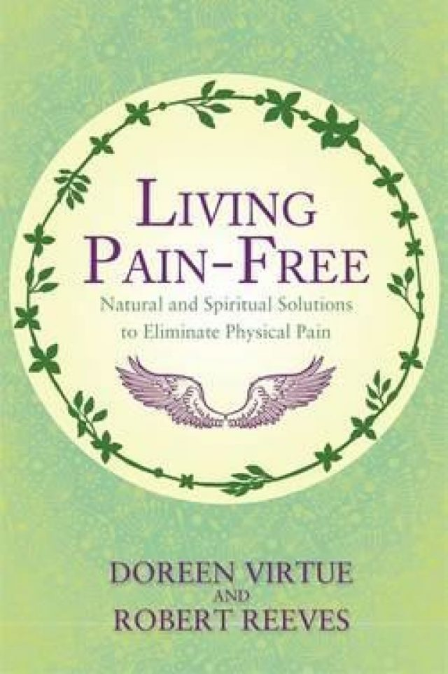 Healing Light Online Psychics Living Pain-Free by Doreen Virtue and Robert Reeves book for sale