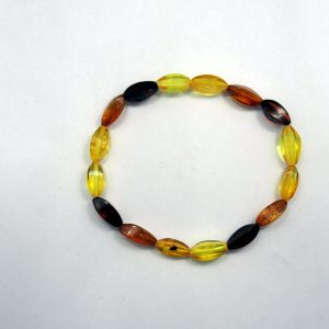 Healing Light Online Psychic Readings and Merchandise Amber Bead Bracelet