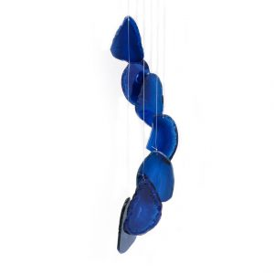Healing Light Online Psychics New Age Shop Blue Agate Windchime for Sale
