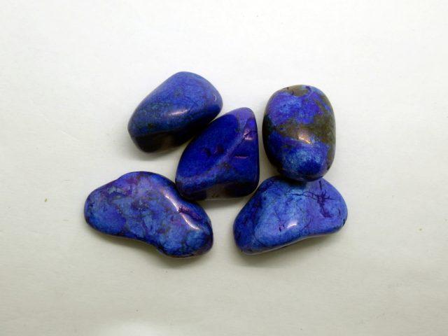 Healing Light Online Psychic Readings and Merchandise Blue Howlite Tumblestone