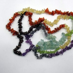 Healing Light Online Psychics New Age Shop Merchandise Chakra Chip Necklace