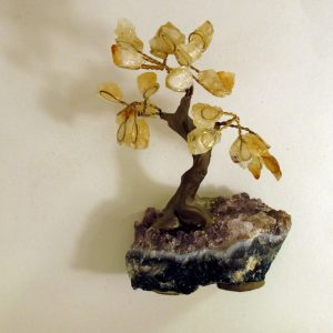 Healing Light Online Psychic Readings and Merchandise Citrine and amethyst Gem Tree