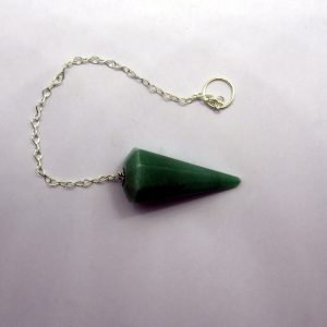 Healing Light Online Psychic Readings and Merchandise Olive Green jade Pendulum