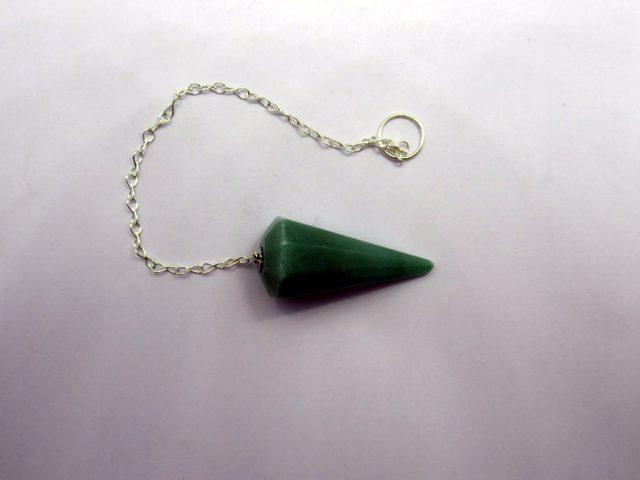 Healing Light Online Psychic Readings and Merchandise Olive Green jade Pendulum