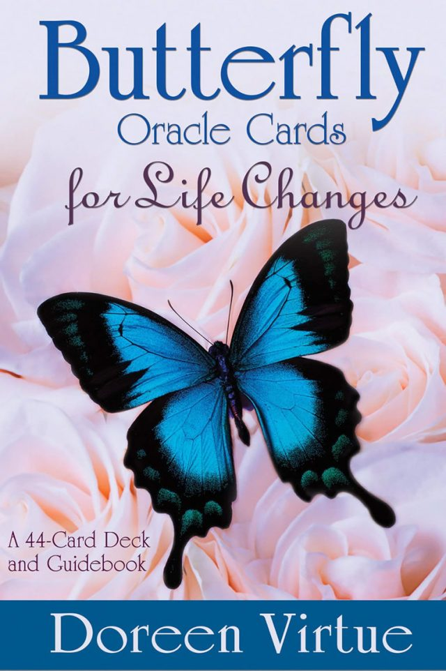 Healing Light Online Psychics and New-Age Shop Oracle Cards Butterfly for life Changes by Doreen Virtue for Sale