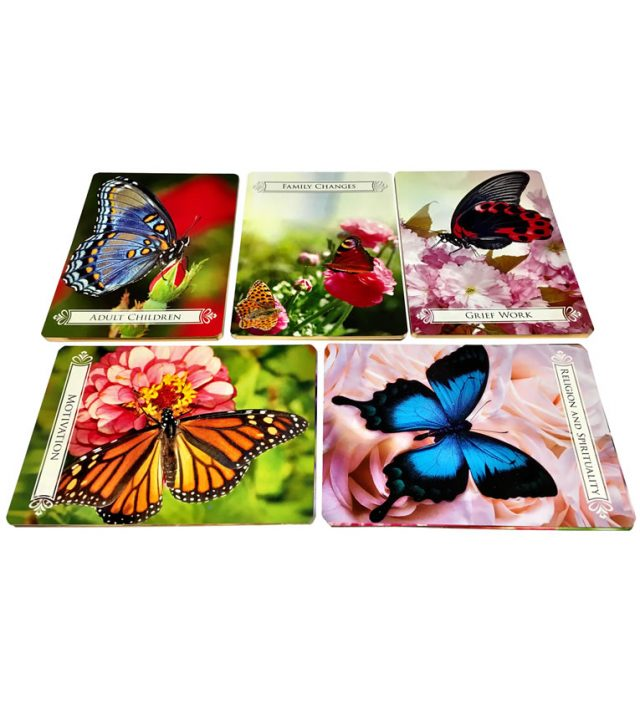 Healing Light Online Psychics and New-Age Shop Oracle Cards Butterfly for life Changes by Doreen Virtue for Sale cards view
