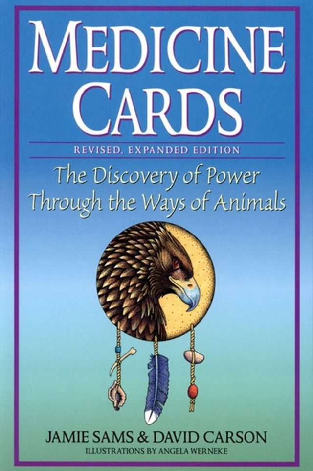 Healing Light Online Psychics and New-Age Shop Oracle Cards Medicine Cards by Jamie Sams and David Carson for Sale