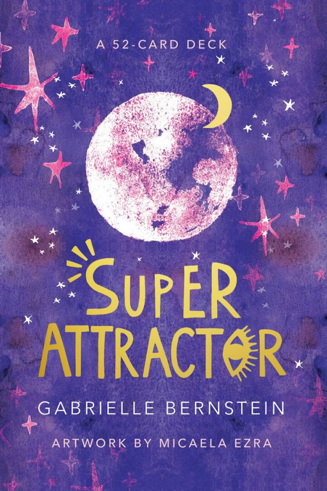 Healing Light Online Psychics and New-Age Shop Oracle Cards Super Attractor by Gabrielle Bernstein for Sale