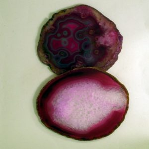 Healing Light Online Psychic Readings and Merchandise Pink Agate Slices