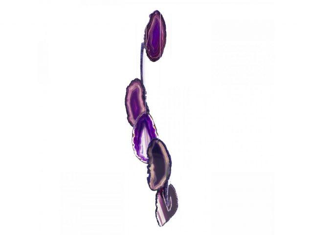 Healing Light Online Psychics New Age Shop Purple Agate Windchime for Sale
