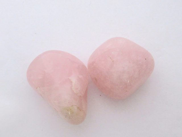 Healing Light Online Psychic Readings and Merchandise Rose Quartz Tumblestone