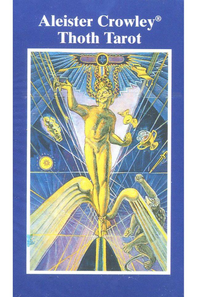 Healing Light Online Psychics and New-Age Shop Tarot Deck Alistair Crowley Pocket Edition Thoth for Sale