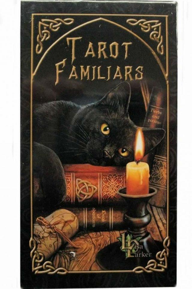 Healing Light Online Psychics and New-Age Shop Tarot Decks Lisa Parker Tarot Of Familiars for Sale