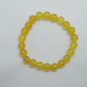 Healing Light Online Psychics New Age Shop Merchandise Bracelet Jade Yellow
