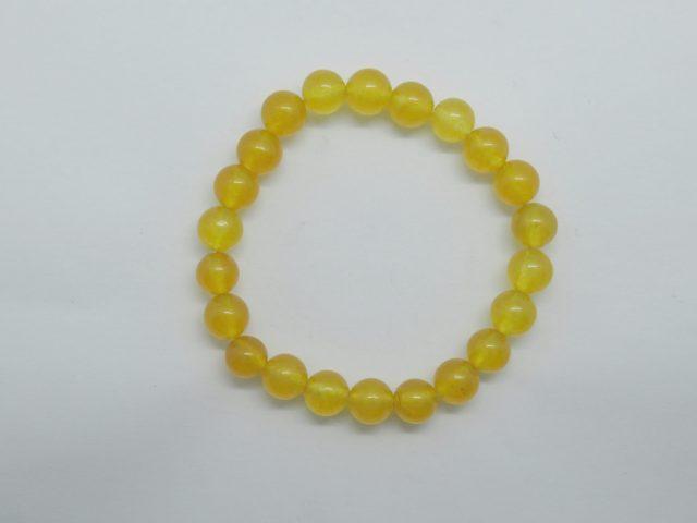 Healing Light Online Psychics New Age Shop Merchandise Bracelet Jade Yellow